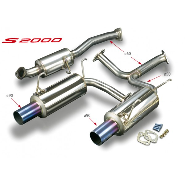 F20C/F22C (AP1/AP2) High Power Muffler S...