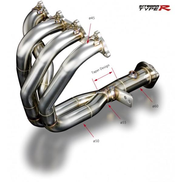 B18C-R (DC2/DB8) 96spec Exhaust Manifold Ver.2 (4-2-1 SUS)
